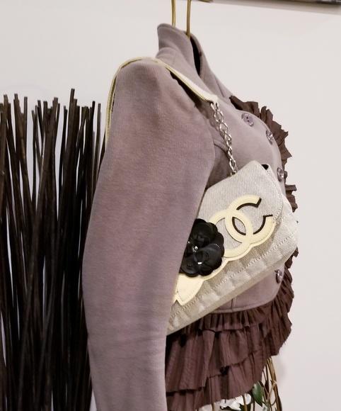 0a47f02bea8c CHANEL Handbags - Part 2 Chanel Camellia No 5 Flap Shoulder Bag